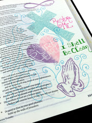 Clear Stamps - God's Love | Bible Journaling Clear Stamps - Joy Clair - 2