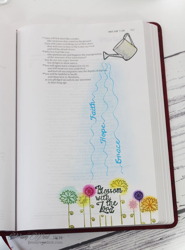 Clear Stamps - Grow with Faith |  Bible Journaling Clear Stamps - Joy Clair - 10