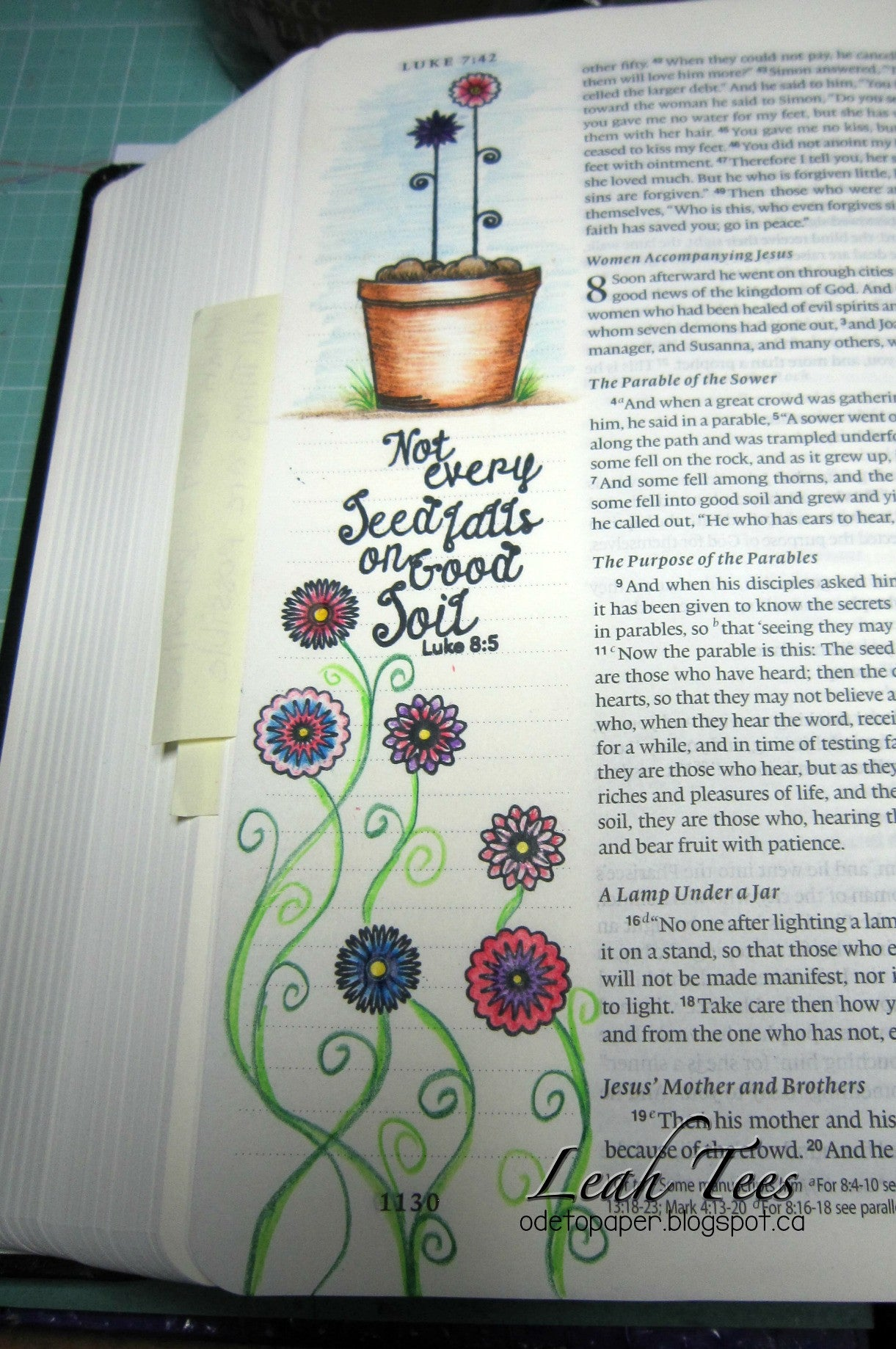 Clear Stamps - Grow with Faith |  Bible Journaling Clear Stamps - Joy Clair - 11