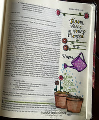 Clear Stamps - Grow with Faith |  Bible Journaling Clear Stamps - Joy Clair - 9