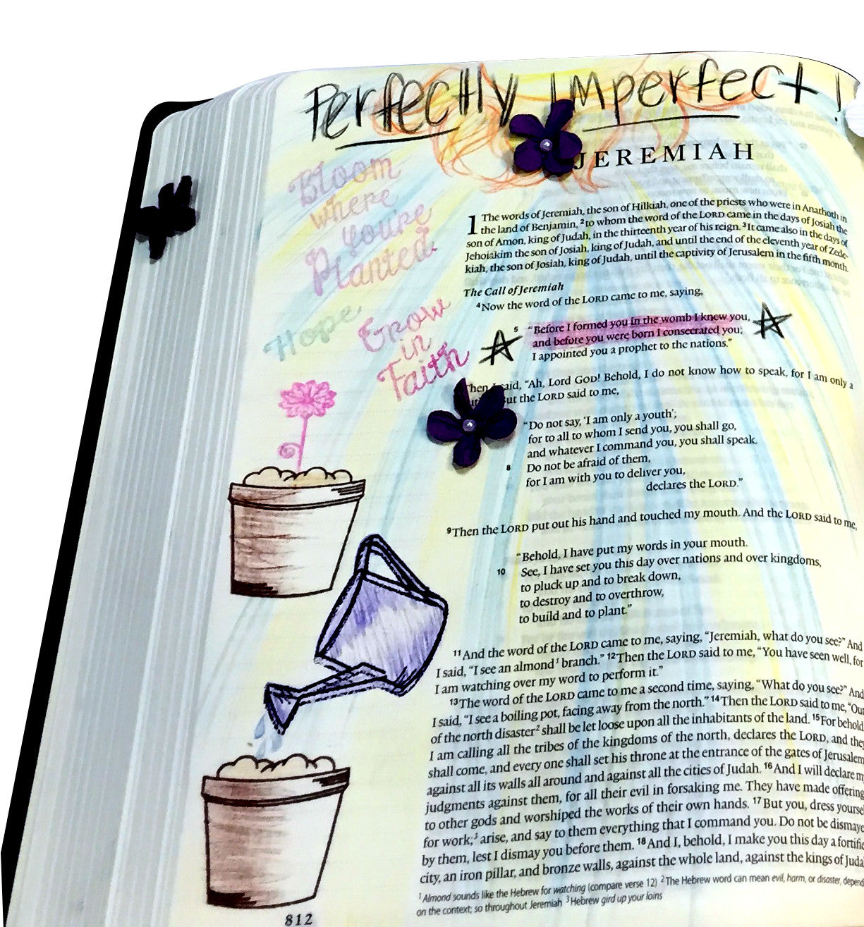 Clear Stamps - Grow with Faith |  Bible Journaling Clear Stamps - Joy Clair - 3