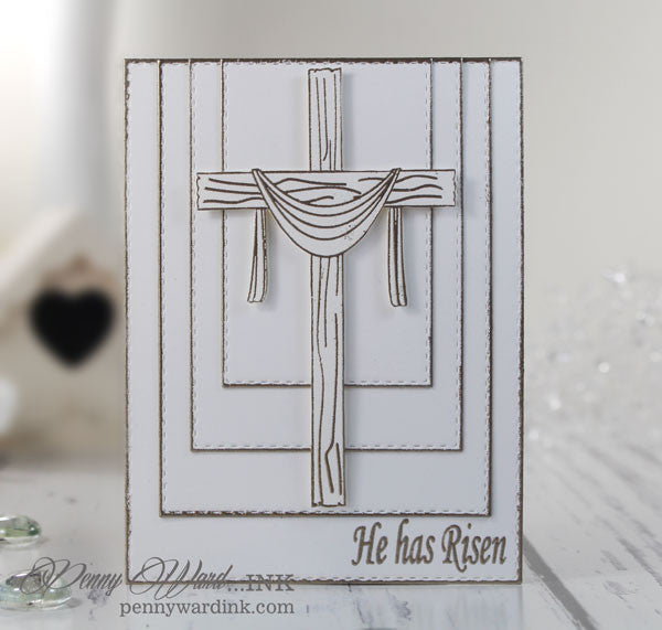 Clear Stamps - He has Risen | Bible Journaling Clear Stamps - Joy Clair - 11