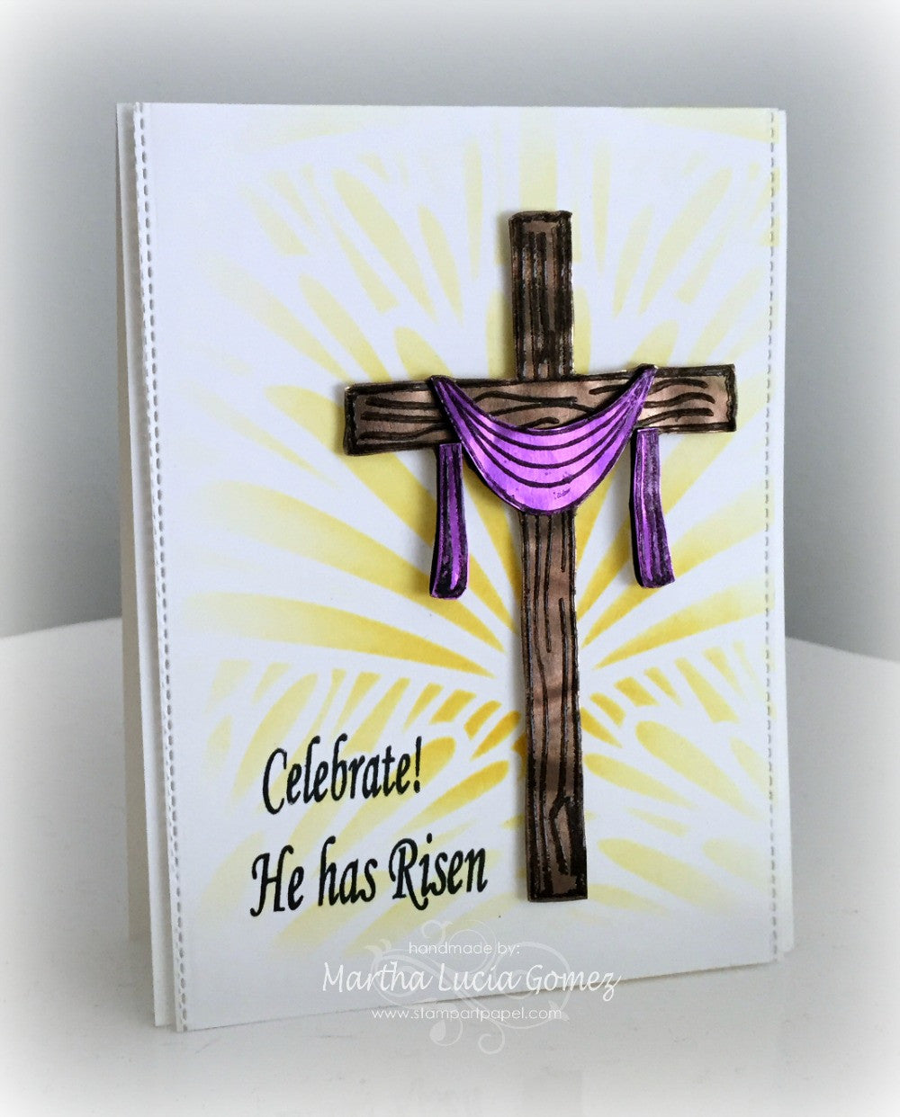 Clear Stamps - He has Risen | Bible Journaling Clear Stamps - Joy Clair - 9