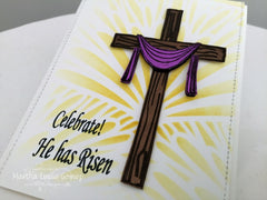 Clear Stamps - He has Risen | Bible Journaling Clear Stamps - Joy Clair - 8