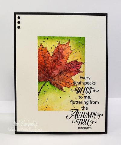 Hello Autumn Clear Stamps