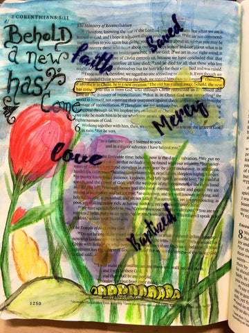 Born Again Sentiments | Bible Journaling Clear Stamps