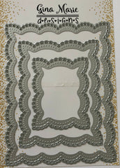 Looped Lace Rectangle Dies