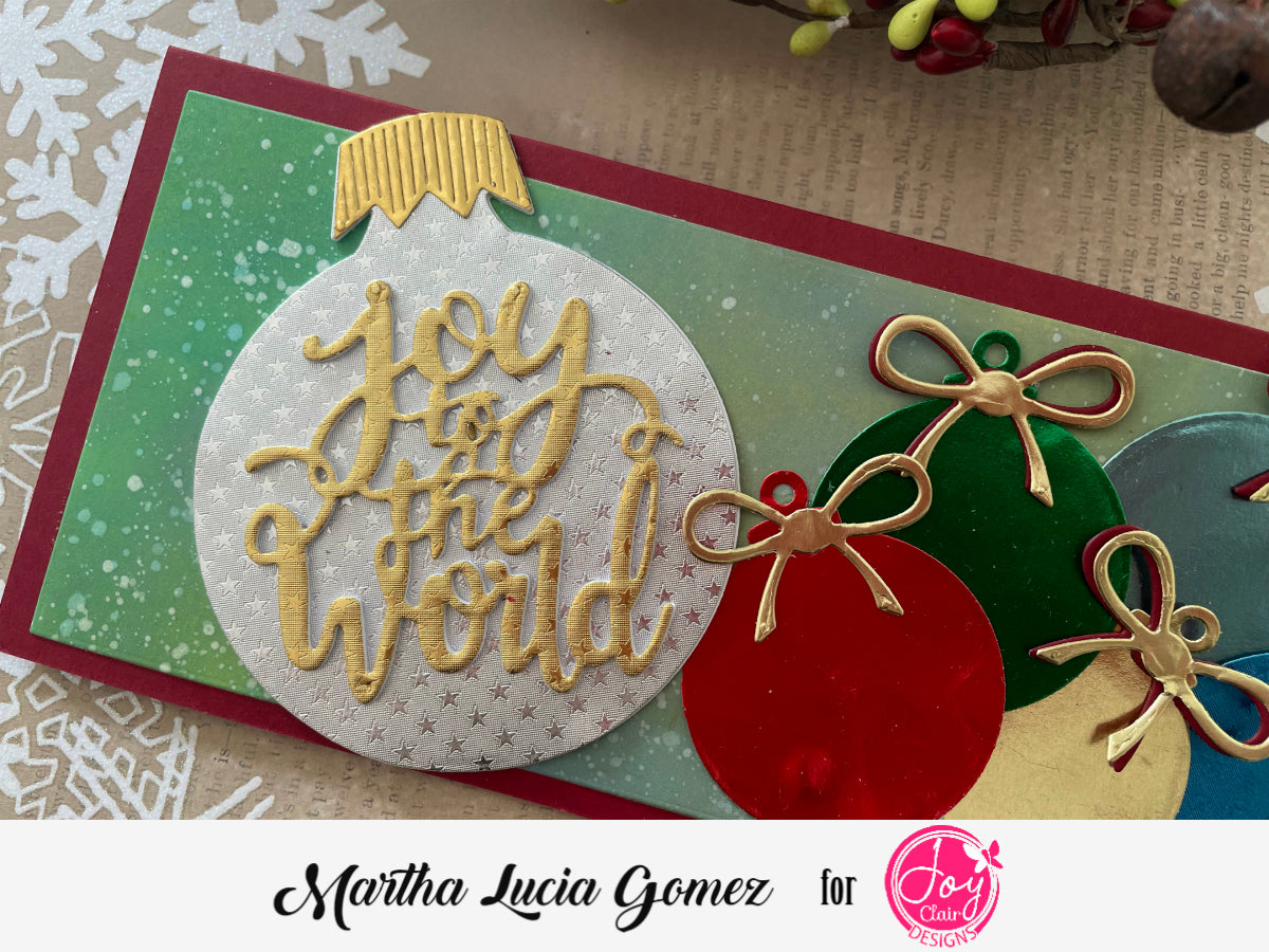 Ornament Joy to the World