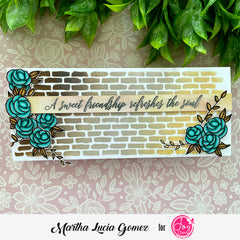 Stronger Roses Digital Stamps