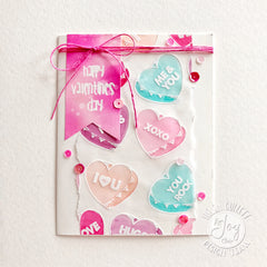 Clear Stamps - Candy Hearts Clear Stamps - Joy Clair - 2