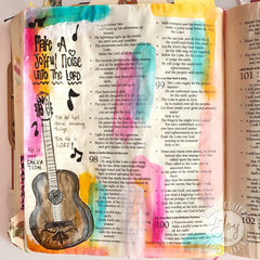 Clear Stamps - Joyful Noise | Bible Journaling Clear Stamps - Joy Clair - 3