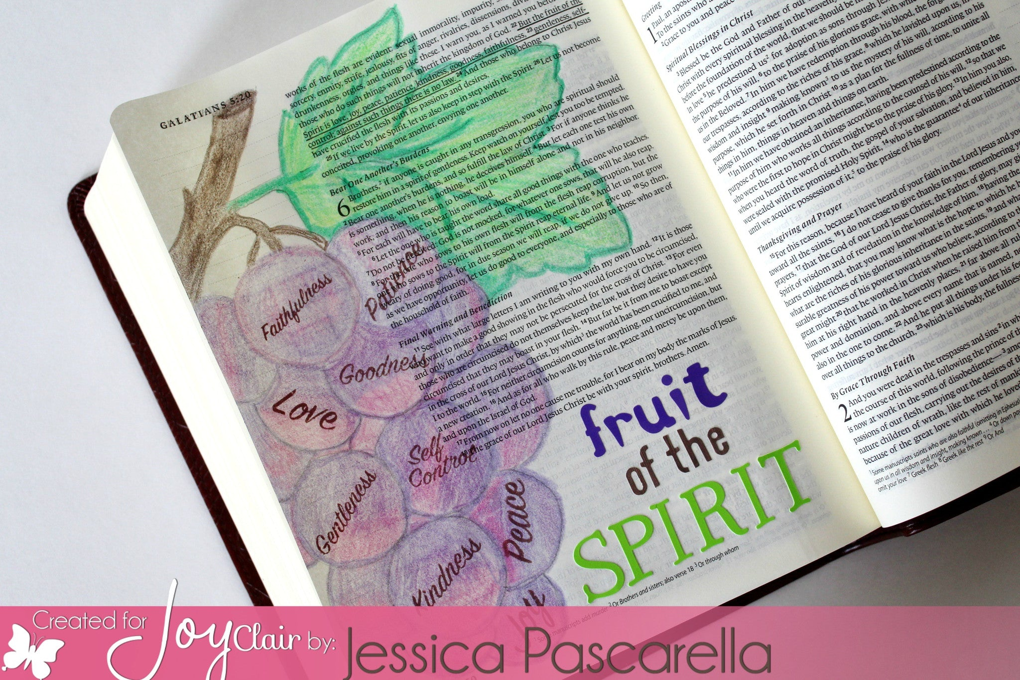 Clear Stamps - Seeds of Faith | Bible Journaling Clear Stamps - Joy Clair - 6