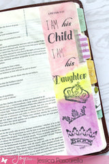 Clear Stamps - Child of the King | Bible Journaling Clear Stamp - Joy Clair - 4