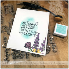 Heartfelt Sympathy | Bible Journal Clear Stamps