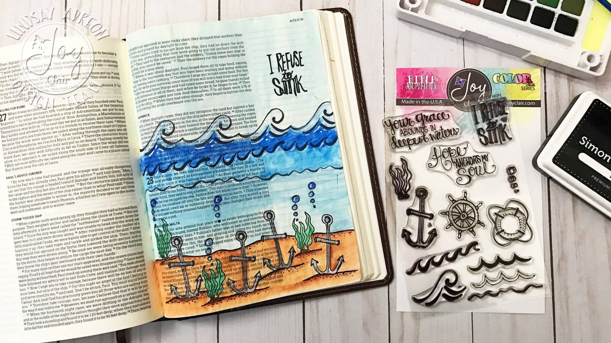Anchor of hope | Bible Journaling Clear Stamp