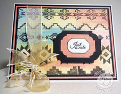 Clear Stamps - Aztec background Clear Stamps - Joy Clair - 6