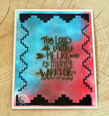 Clear Stamps - Aztec background Clear Stamps - Joy Clair - 2