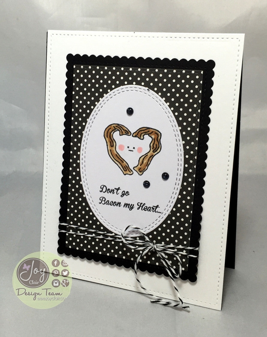 Breakfast Friends Forever Clear Stamps - Joy Clair - 14