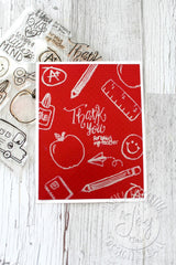 Back to School Clear Stamps