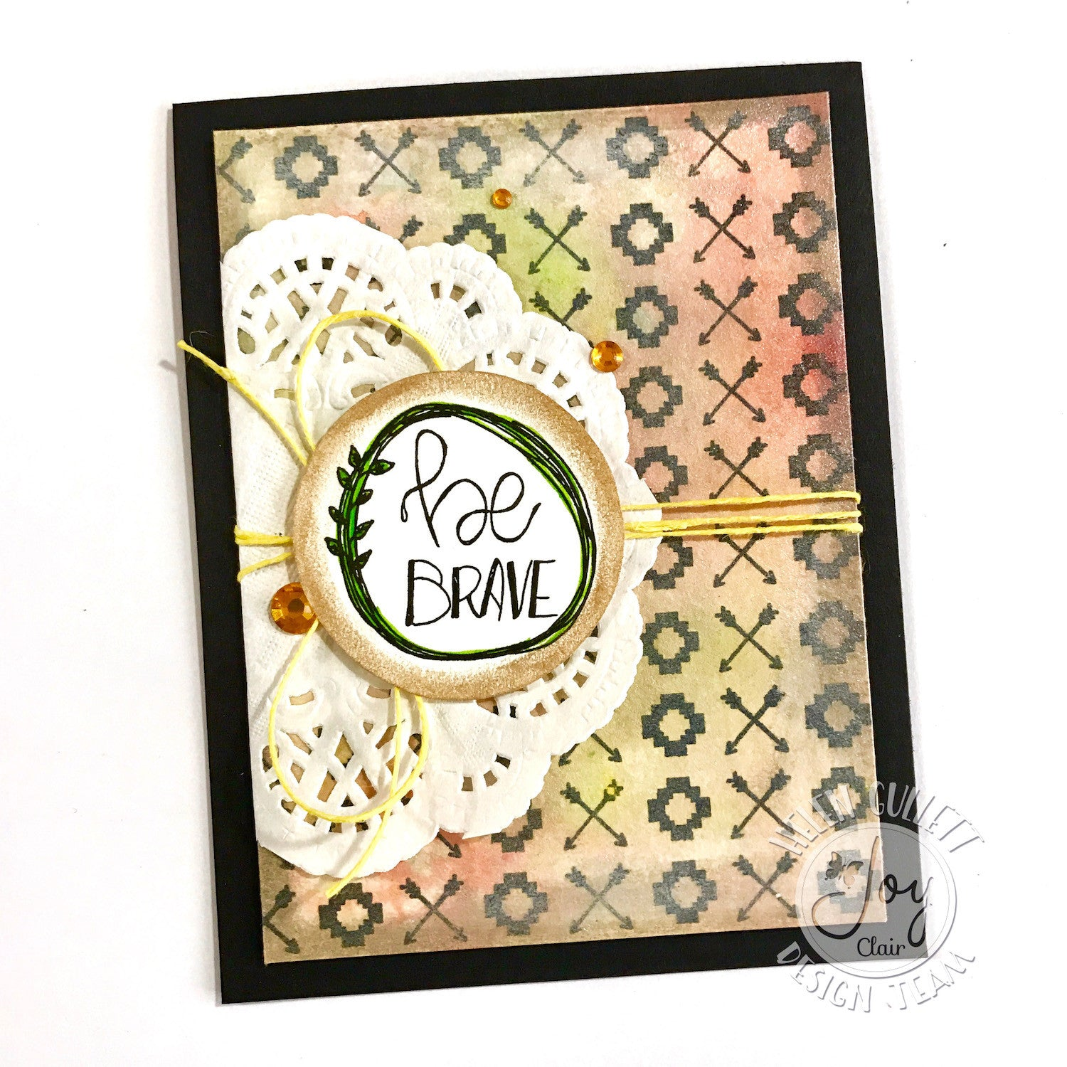 Clear Stamps - Be Brave | Bible Journaling Clear Stamps - Joy Clair - 2
