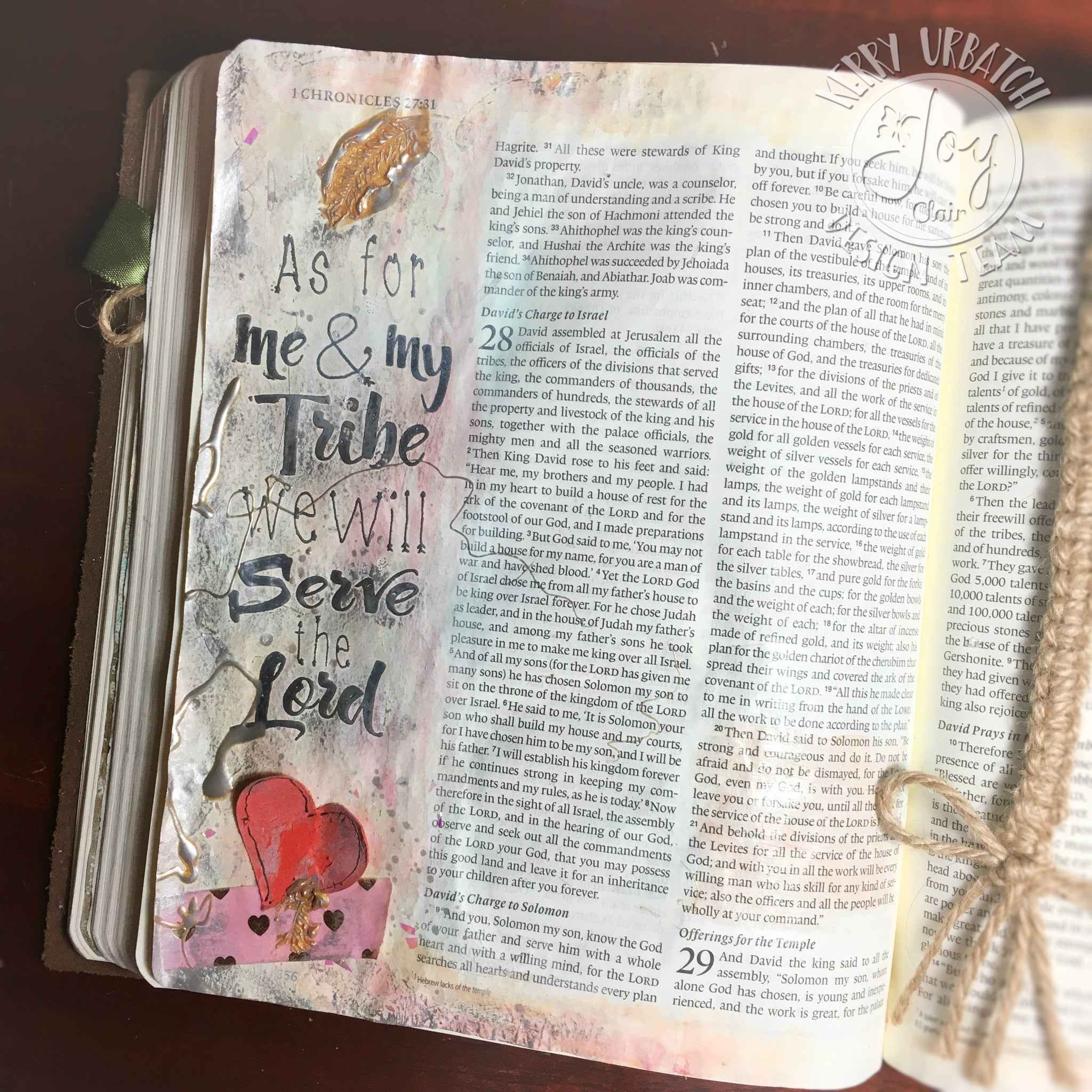 Clear Stamps - Be Brave | Bible Journaling Clear Stamps - Joy Clair - 5