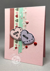 Clear Stamps - Candy Hearts Clear Stamps - Joy Clair - 6