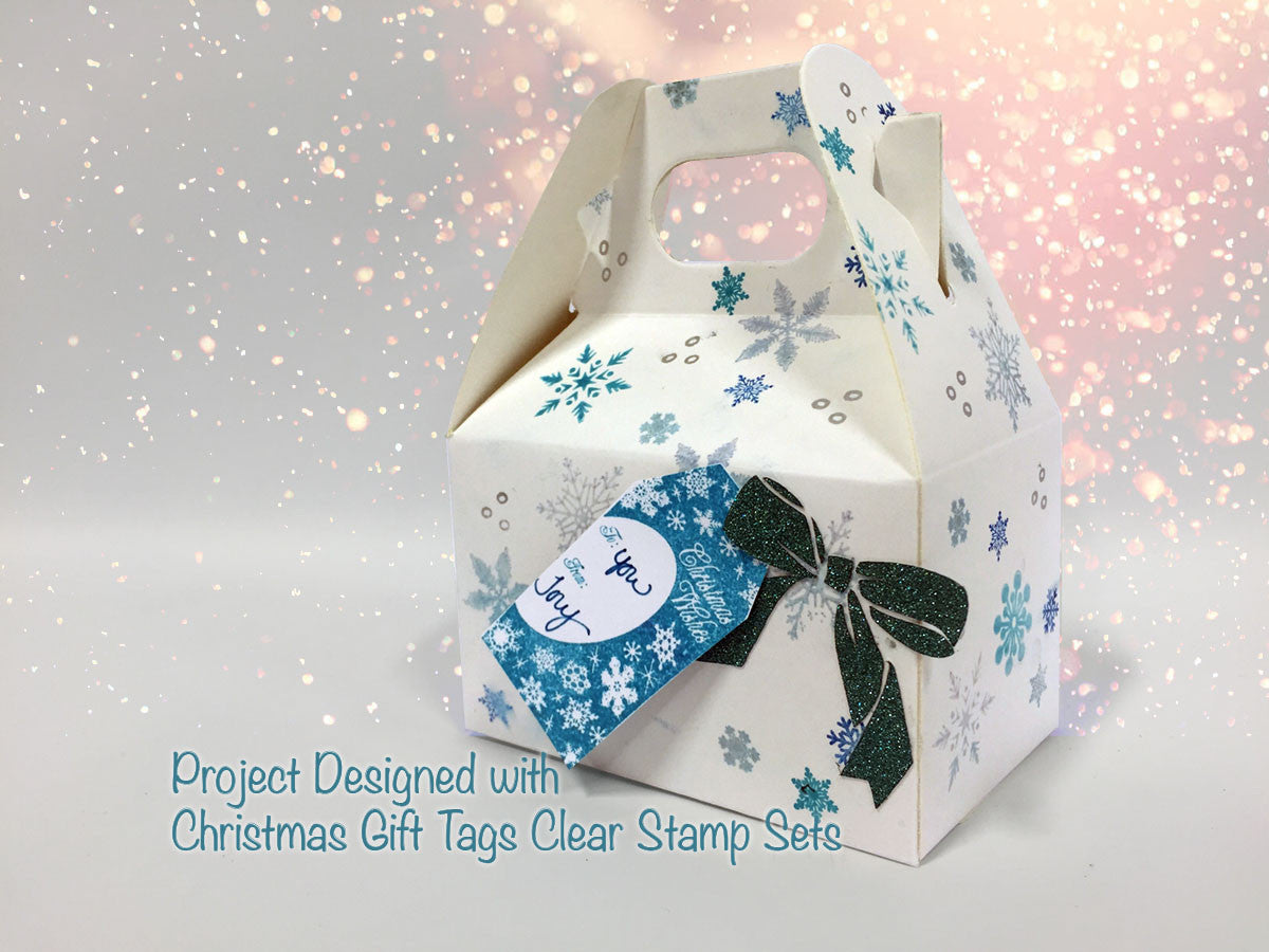 Snow Fall Clear Stamps - Joy Clair - 2