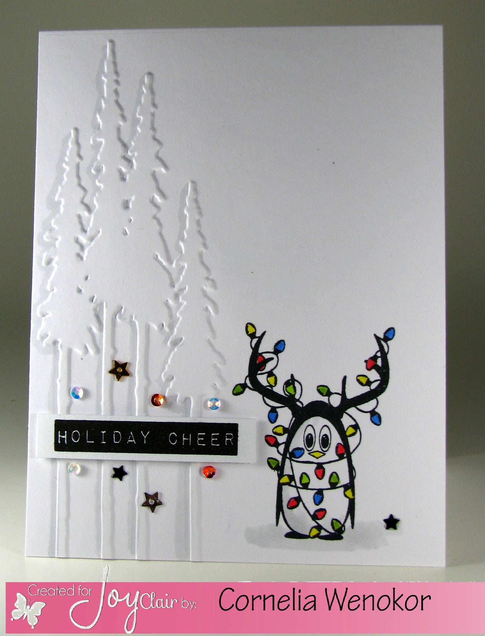 Christmas Penguins Clear Stamps - Joy Clair - 3