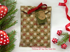 Christmas Gift Tags Clear Stamps - Joy Clair - 2