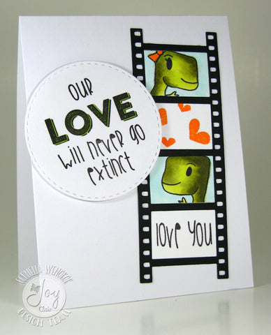 Dino Love Clear Stamps