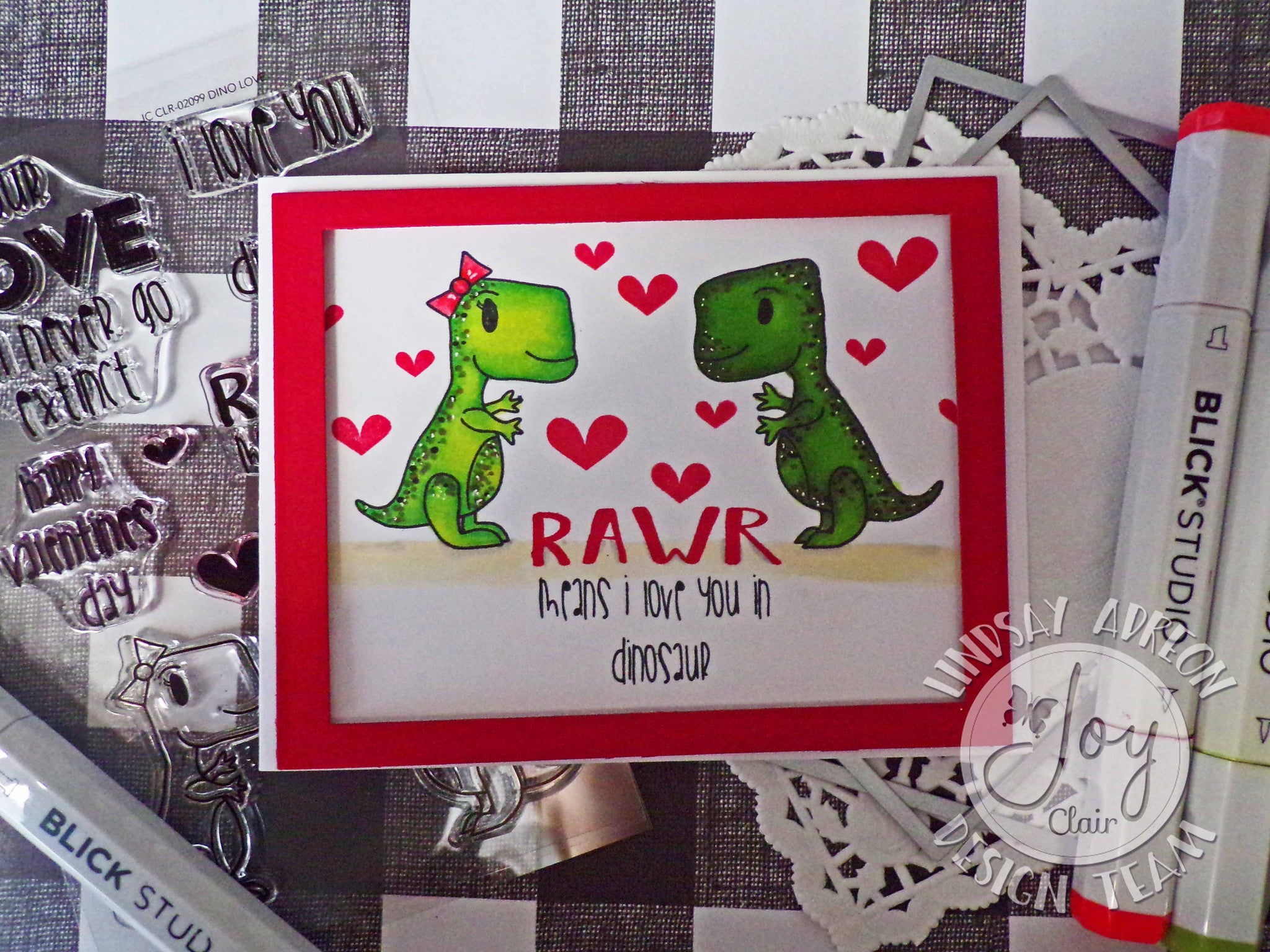 Clear Stamps - Dino Love Clear Stamps - Joy Clair - 5