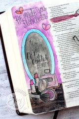 Flawless | Bible Journaling Clear Stamps