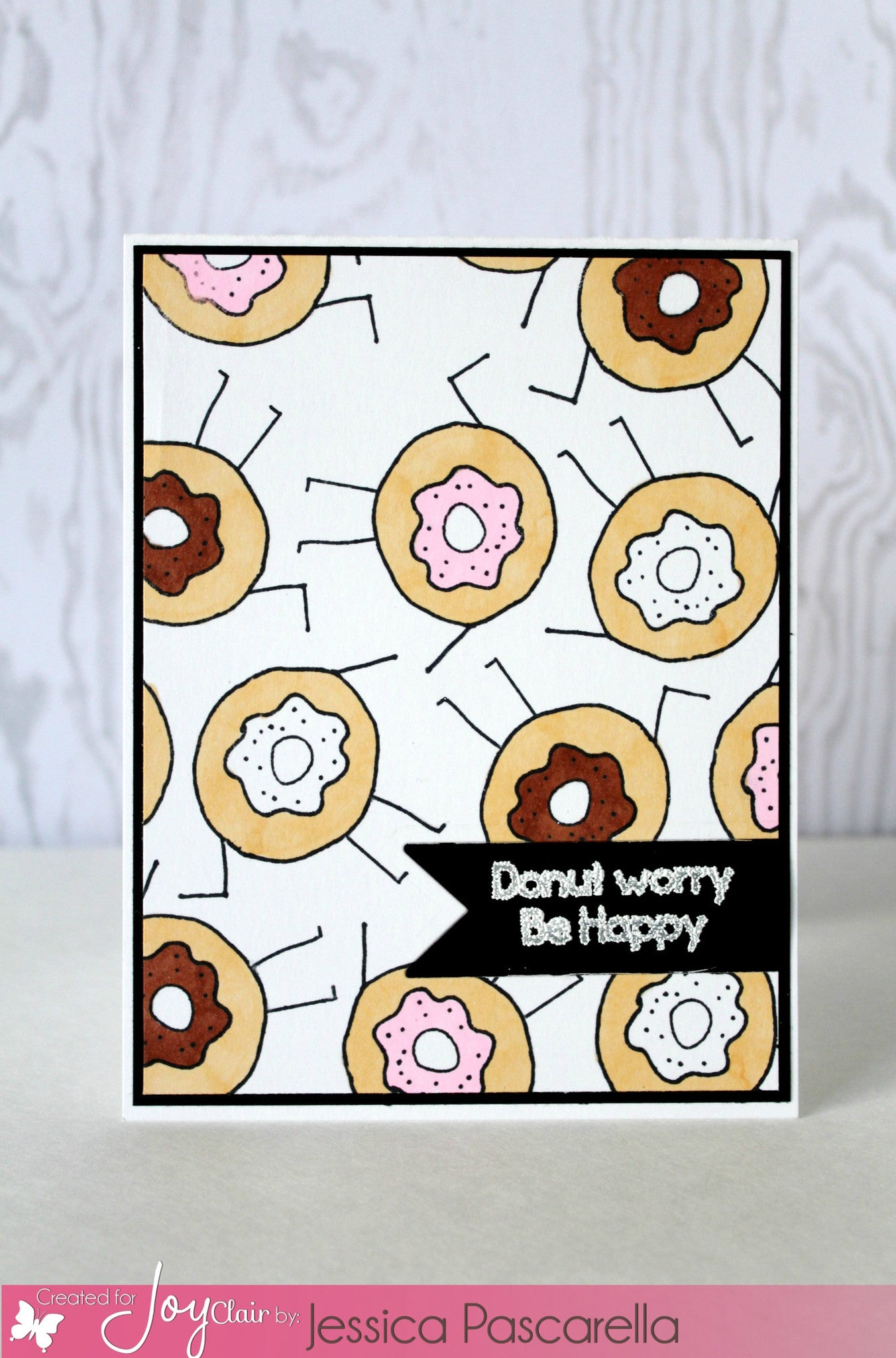 Funny Foods Clear Stamps - Joy Clair - 10