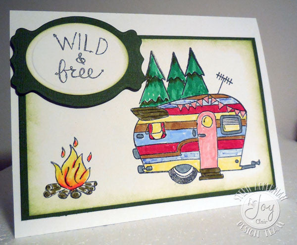 Clear Stamps - Happy Camper Clear Stamps - Joy Clair - 6
