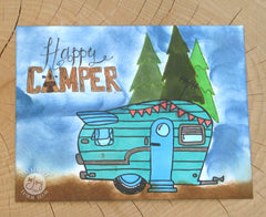 Clear Stamps - Happy Camper Clear Stamps - Joy Clair - 3
