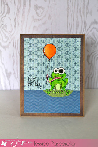 Hoppy Birthday Clear Stamps