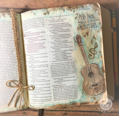 Clear Stamps - Joyful Noise | Bible Journaling Clear Stamps - Joy Clair - 10