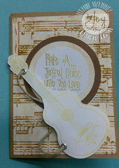 Clear Stamps - Joyful Noise | Bible Journaling Clear Stamps - Joy Clair - 2