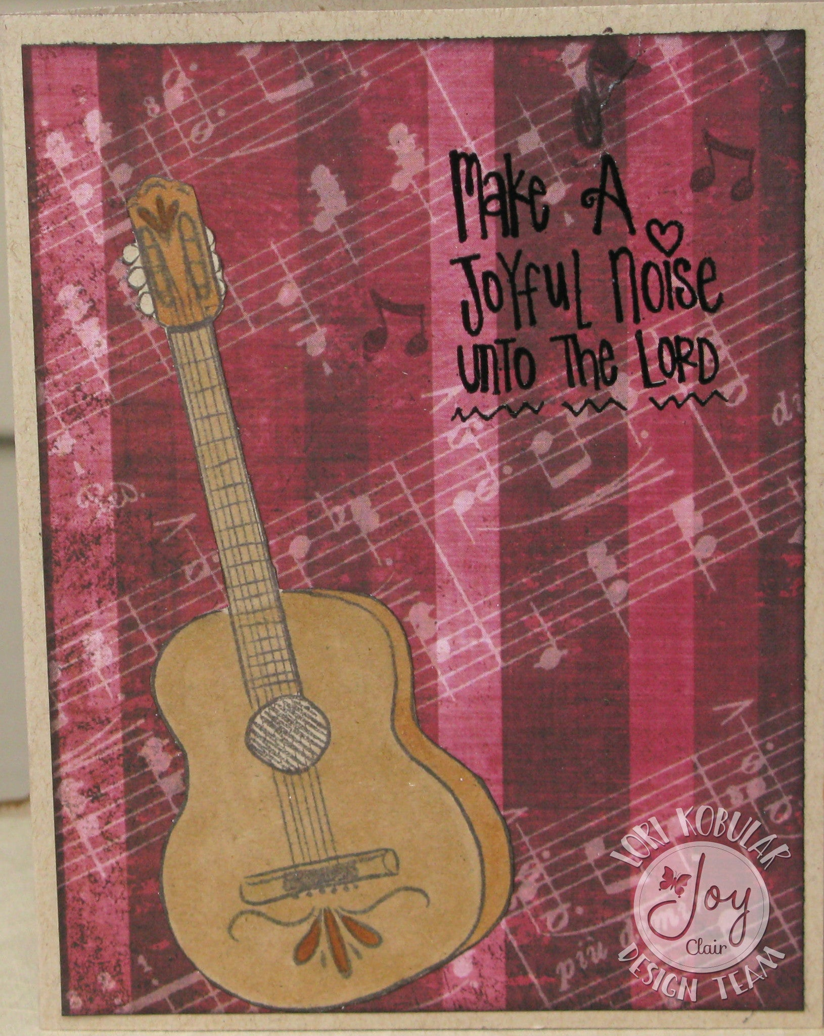 Clear Stamps - Joyful Noise | Bible Journaling Clear Stamps - Joy Clair - 6