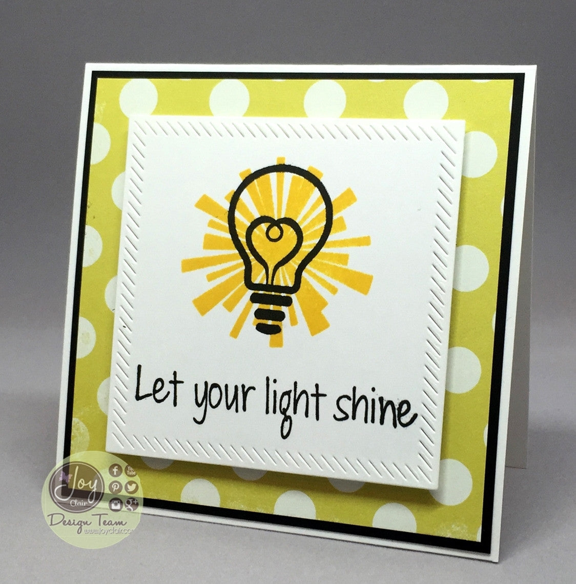 Clear Stamps - Let the Light Shine | Bible Journaling Clear Stamps - Joy Clair - 8