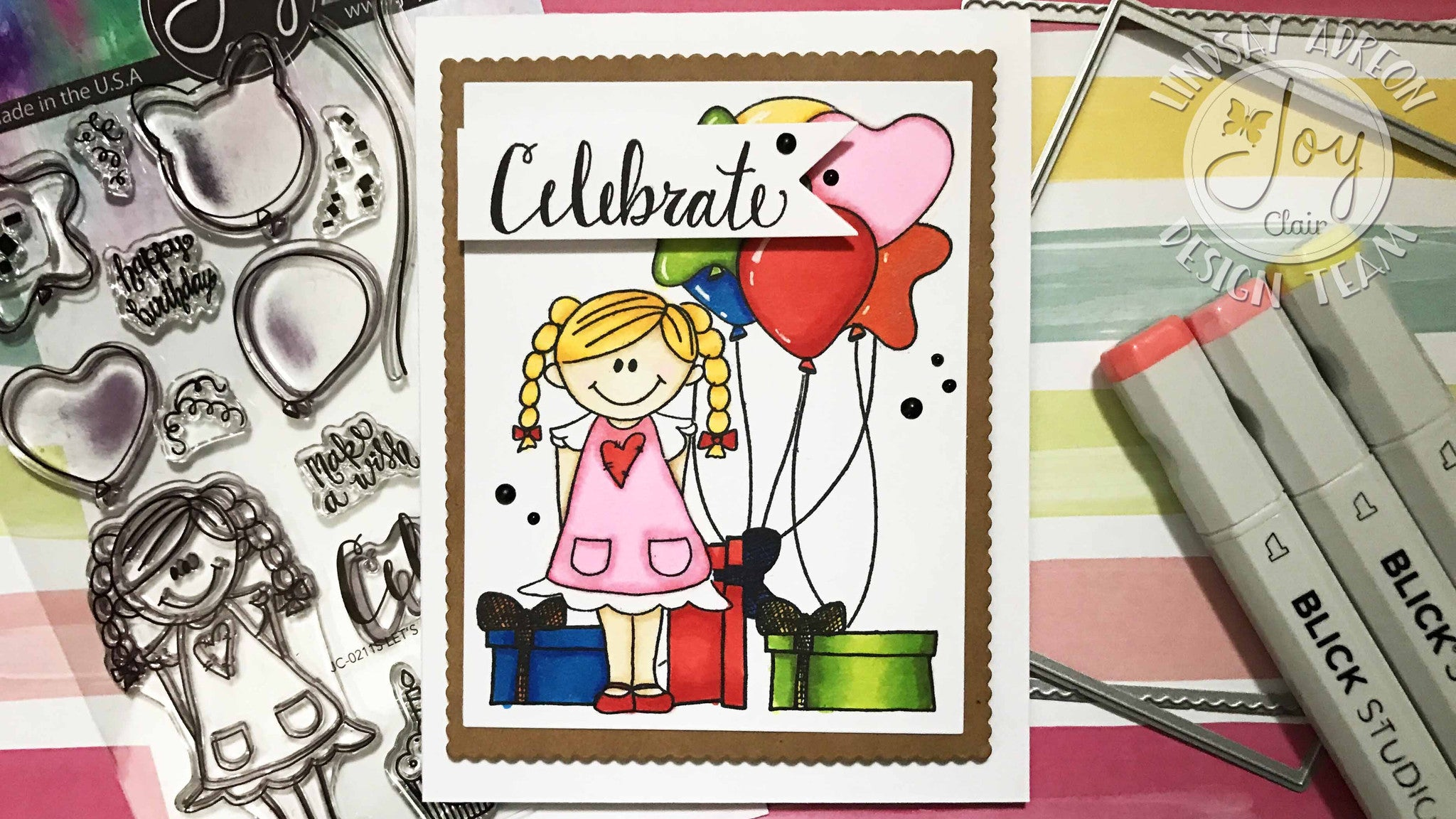Let's Celebrate Clear Stamps
