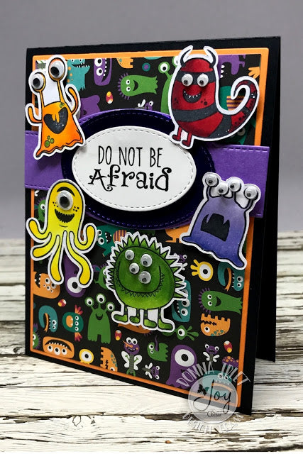 Little Monsters | Bible Journaling Clear Stamps