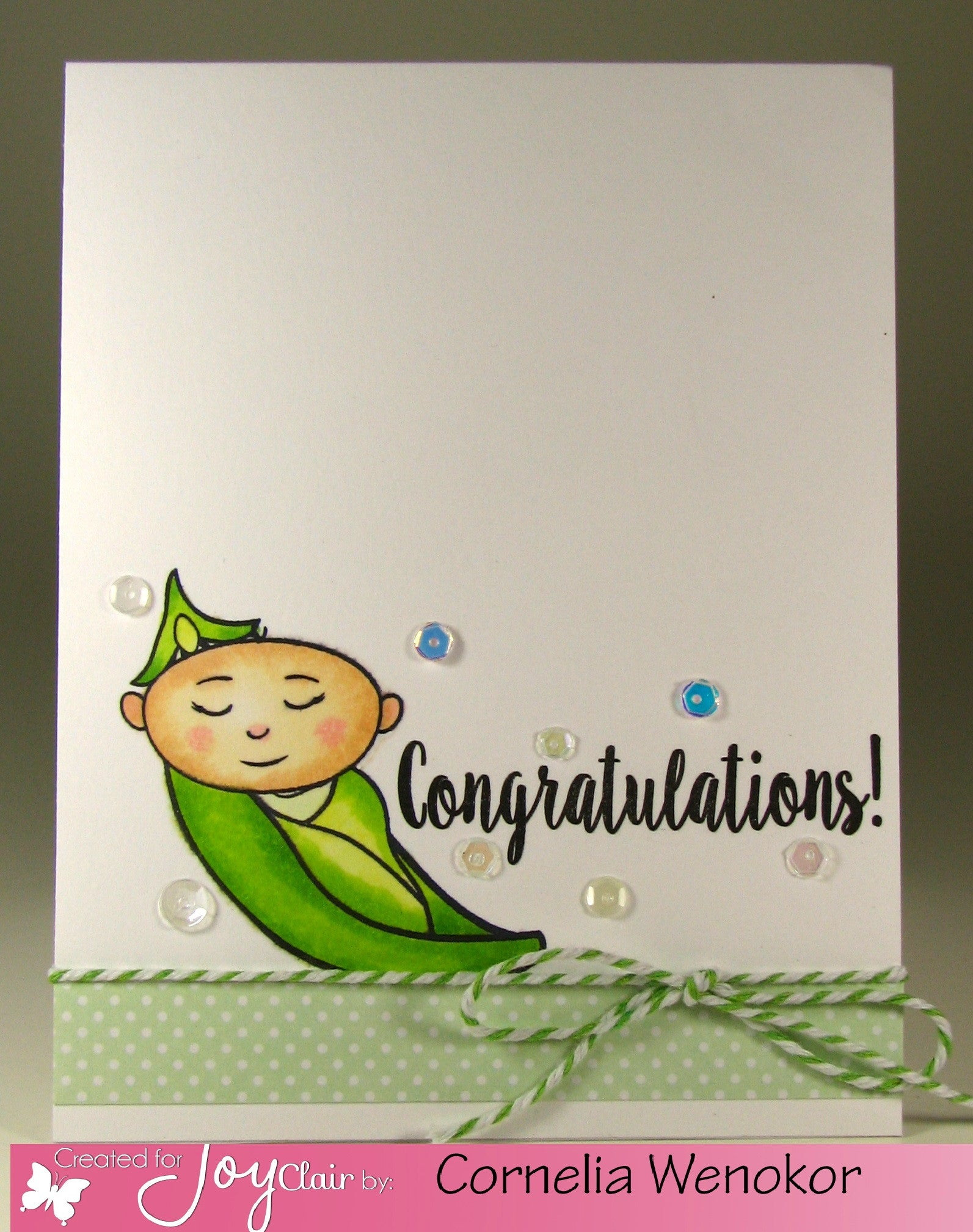 Oh Baby Clear Stamps - Joy Clair - 10