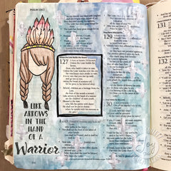 Clear Stamps - Prayer Warrior | Bible Journaling Clear Stamps - Joy Clair - 2
