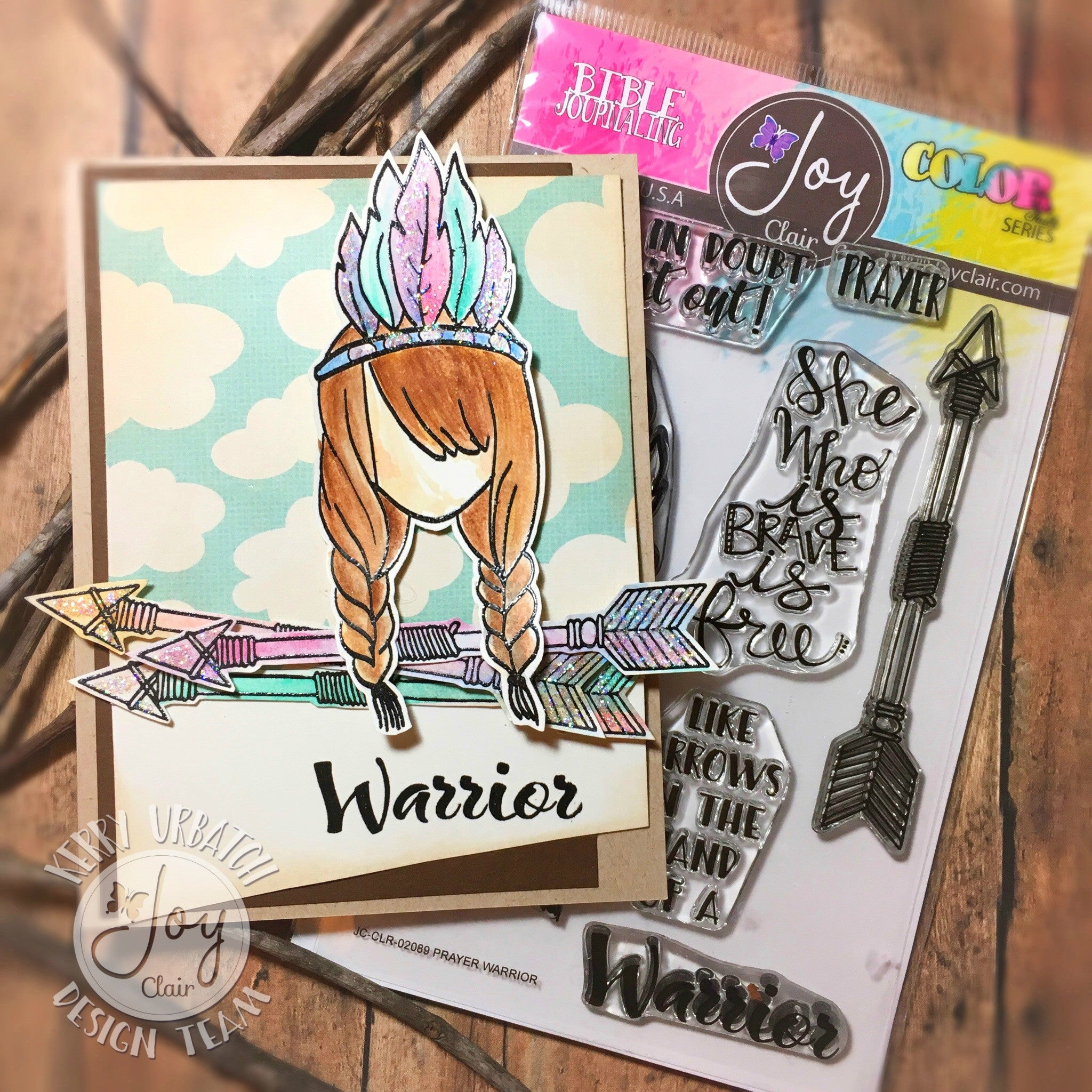 Clear Stamps - Prayer Warrior | Bible Journaling Clear Stamps - Joy Clair - 3