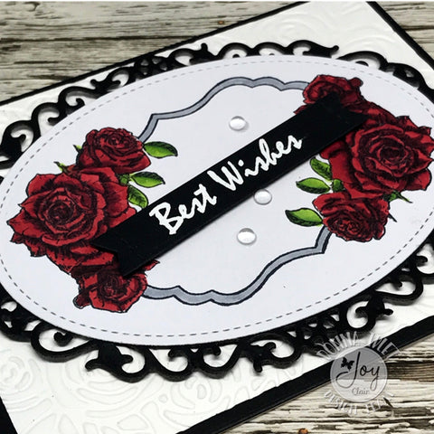 Rose Sentiments  Clear Stamps