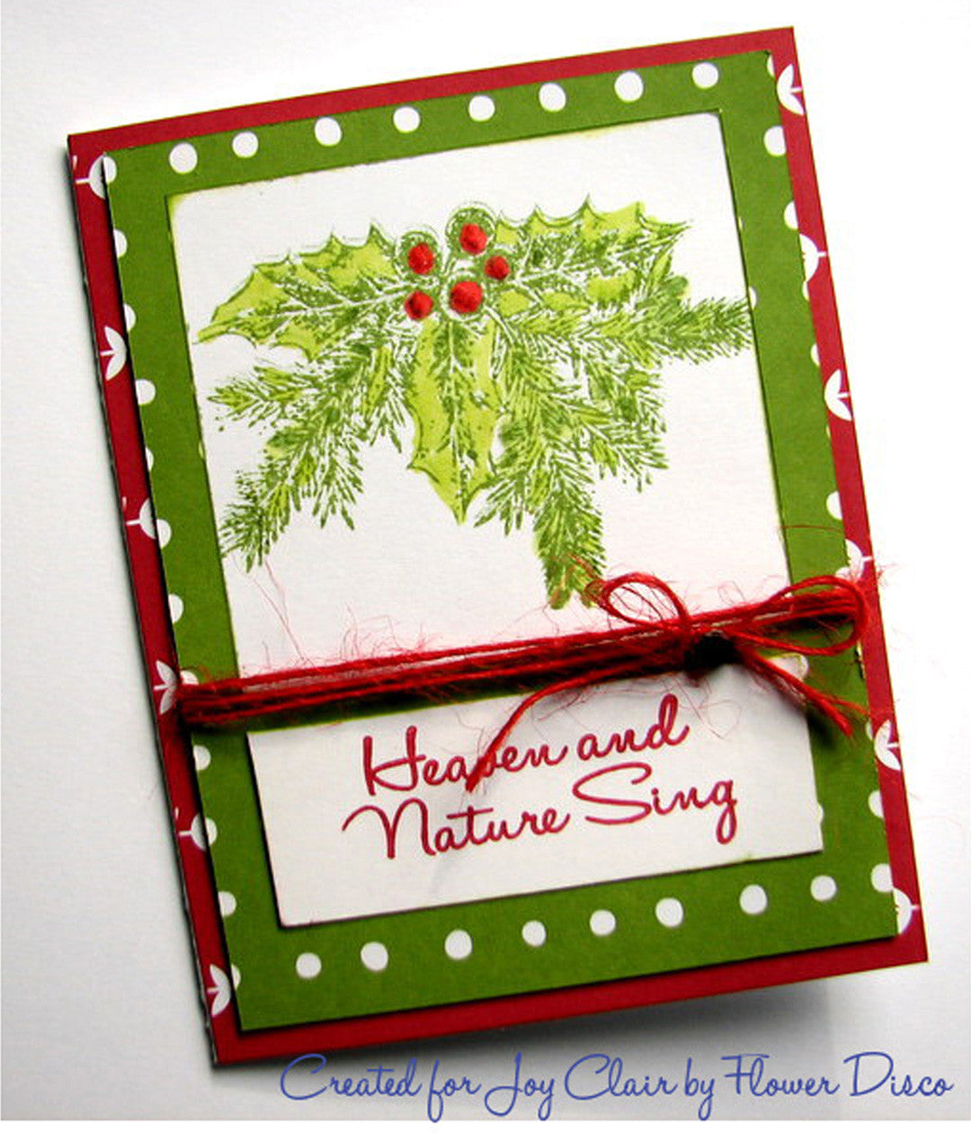 Rustic Christmas Sentiments Clear Stamps - Joy Clair - 7