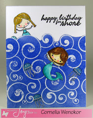 Seas the Day Clear Stamps - Joy Clair - 8