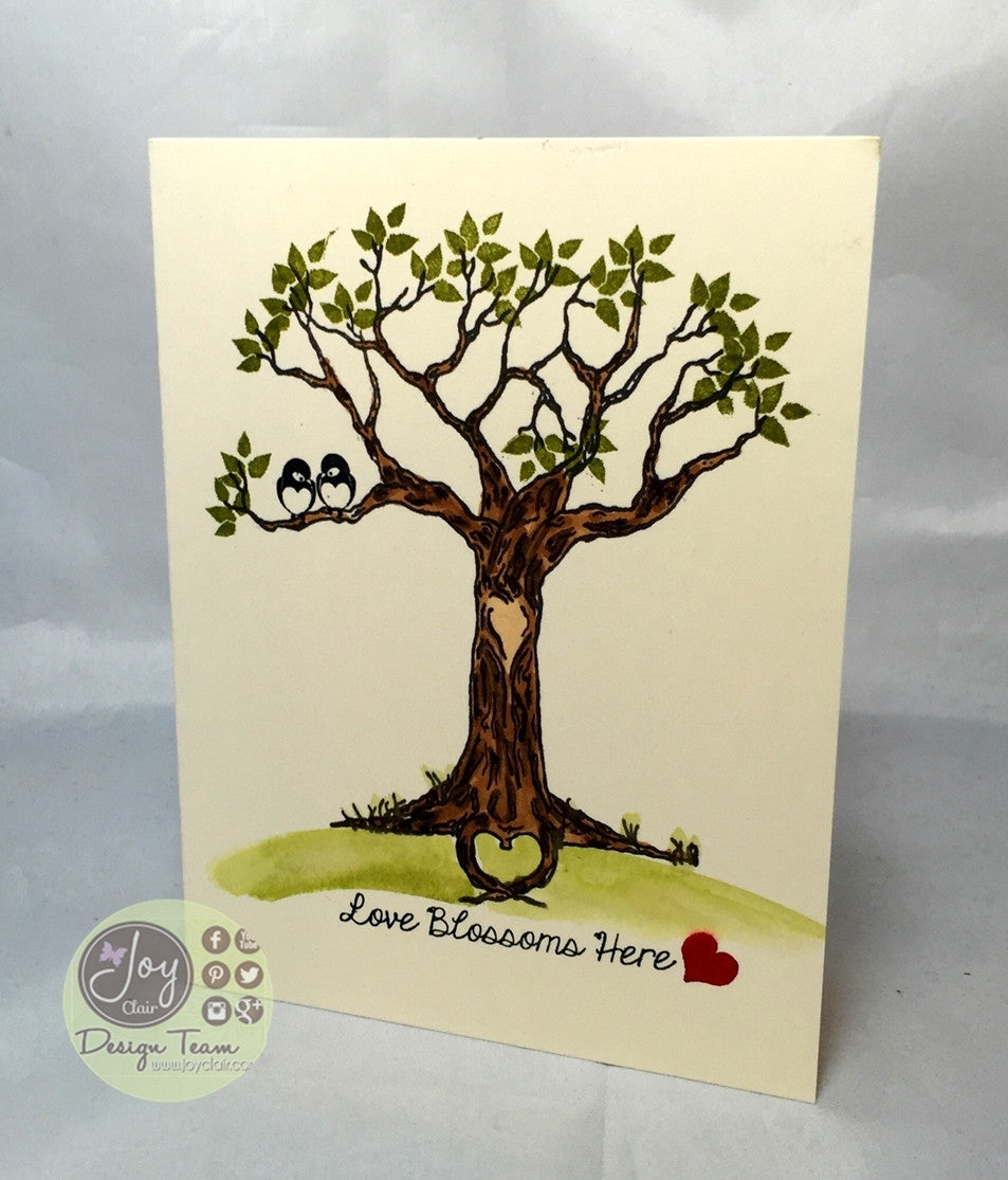 The Love Tree Clear Stamps - Joy Clair - 2