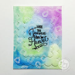 Clear Stamps - God's Treasure | Bible Journaling Clear Stamps - Joy Clair - 2